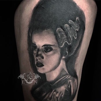 Bride of Frankenstein Tattoo